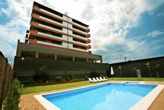 Fotografia-Edifici de 23 habitatges. Parc de l'Aigua de Lleida