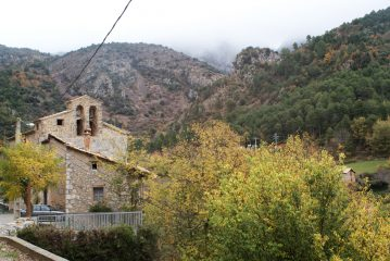 Esglèsia de Sant Esteve d'Alinyà, Alinya